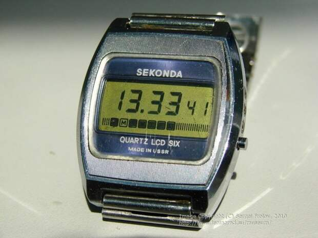 Еще одни часы, которые жители СССР не видели — экспортный вариант под названием Sekonda QUARTZ LCD SIX. 1977 год, между прочим СССР, гаджет, история, стиралка, техника, факты