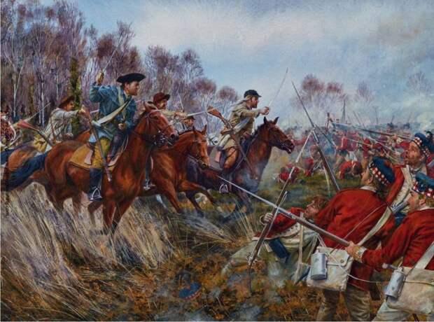 Сражение, которым вдохновлялся Мэл Гибсон. Битва при Коупенсе