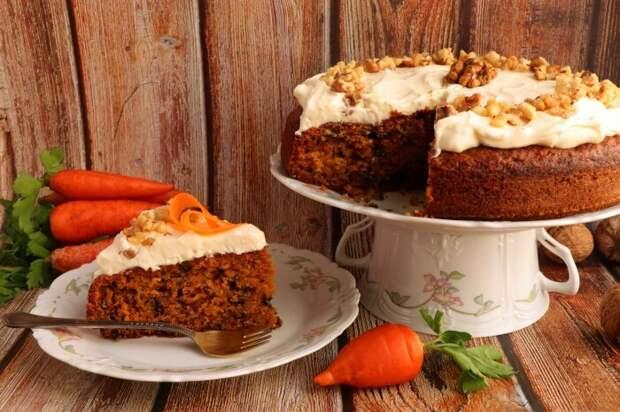 Морковный пирог. \ Фото: delo-vcusa.ru.
