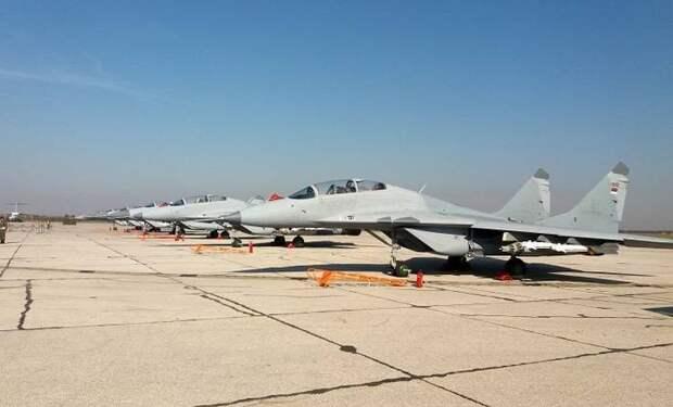 Шойгу: Россия выполнила обещание доставить в Сербию шесть МиГ-29