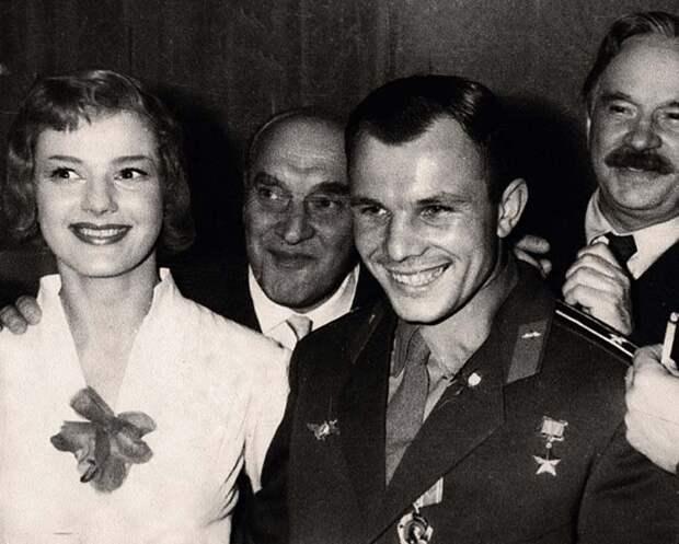 Юлия Борисова и Юрий Гагарин