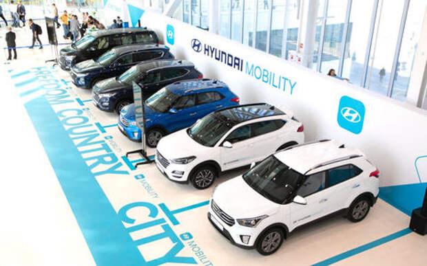 Новый вариант каршеринга: на автомобили Hyundai можно подписаться