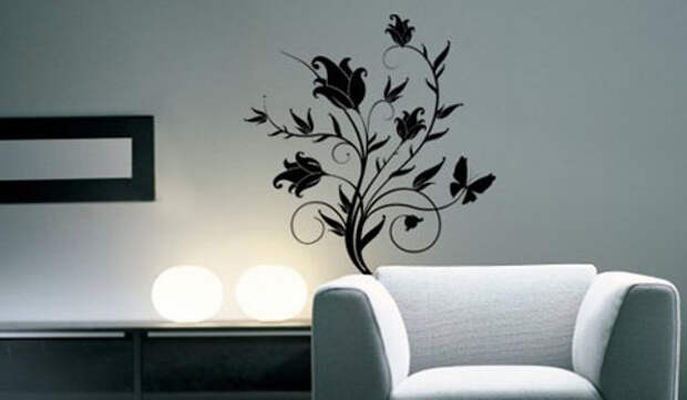 Художественная роспись на стенах