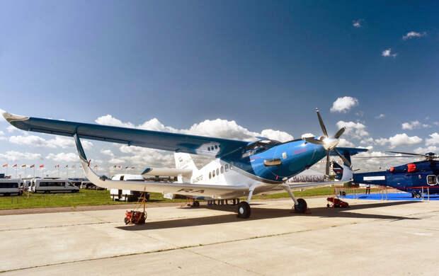 Для нового российского самолета «Байкал» помогут найти заказчиков...