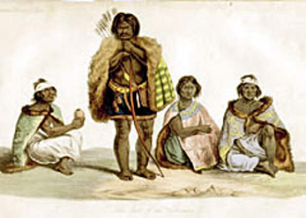 Последние индейцы племени чарруа