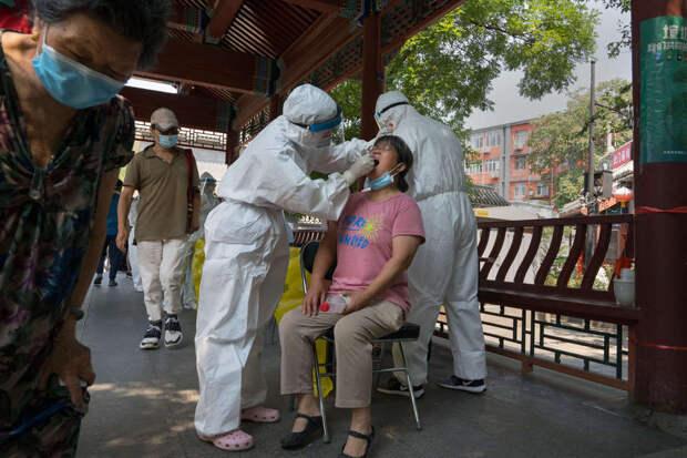 В Китае стали метить красным отстающие по вакцинации учреждения