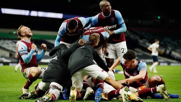 «Вест Хэм» обыграл «Тоттенхэм» и обошел «Челси» в таблице АПЛ