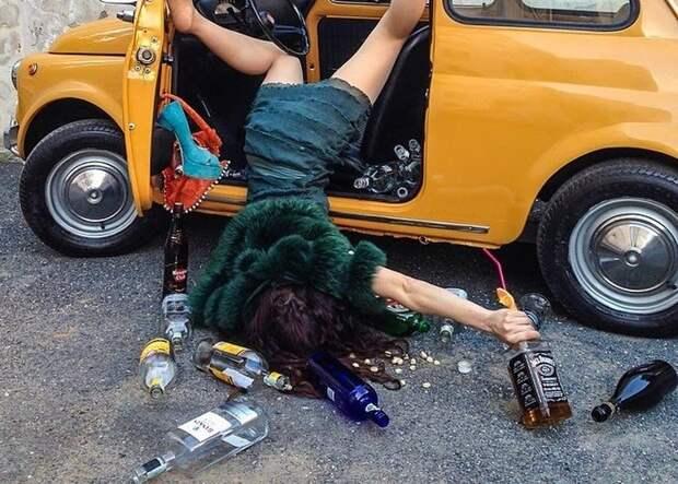 Крах и падение иллюзий жизни: забавные снимки о постановочных несчастных случаях
