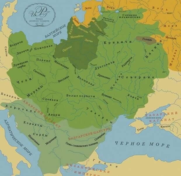Великая Хорватия: Этногенез и ранняя история славян Прикарпатского региона