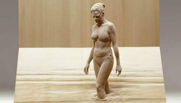 Буратино и не снилось: невероятно реалистичные деревянные скульптуры людей