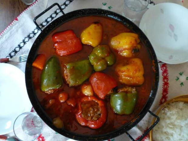 Блюда с болгарским перцем