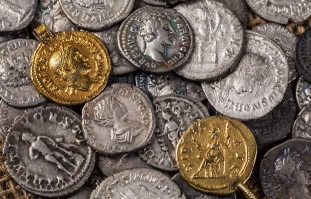 Римские монеты. Источник: