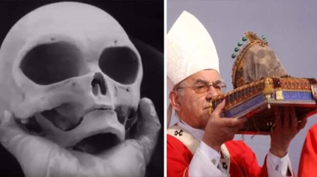 В Ватикане обнаружили черепа неизвестных существ