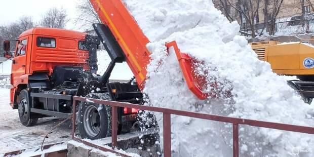Снегоплавильный пункт в Сигнальном проезде подготовили к зиме