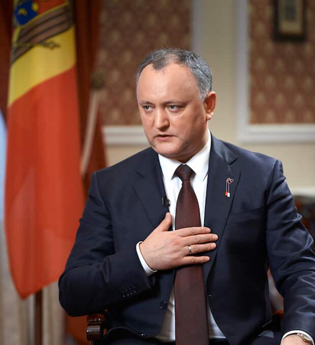 Додон обещает молдаванам много российских денег