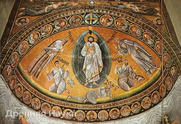 Мозаика в монастыре на горе Синай