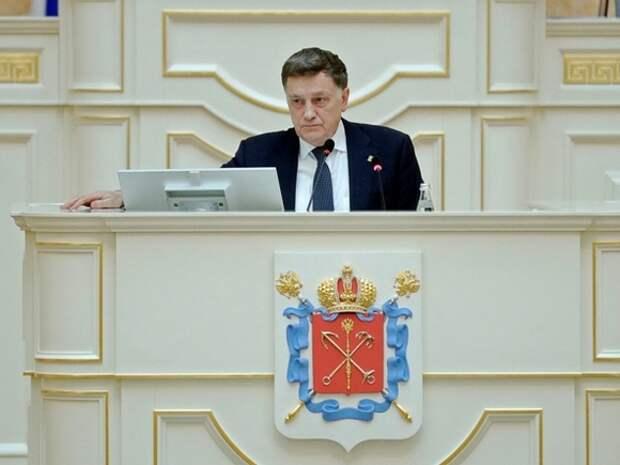 Спикер ЗакСа Петербурга подал документы на праймериз «Единой России»