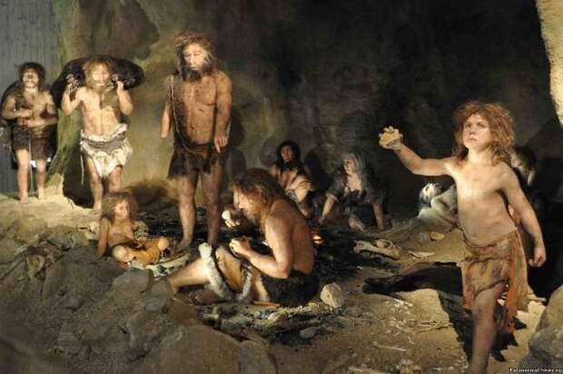 Неандертальцев попросту съели