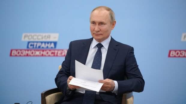 Путин заявил о необходимости построить очистные сооружения в Крыму