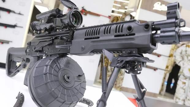 В России начали тестировать новый пулемет Калашникова