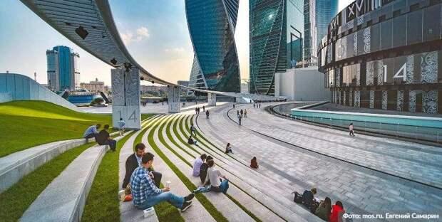Собянин назвал сроки реализации проекта развития «Большого Сити». Фото: Евгений Самарин mos.ru