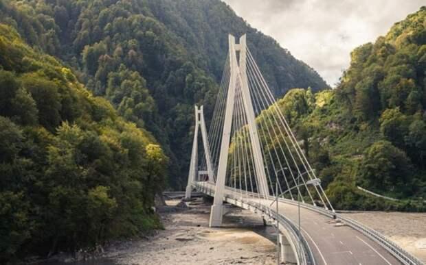 Западный Кавказ. Трасса А-147 дороги, россия, факты