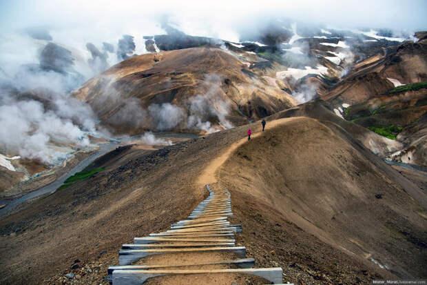 Поездка по острову Исландия