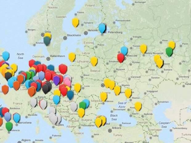 Свыше 40% автозаводов в Европе принадлежат VW и Renault-Nissan