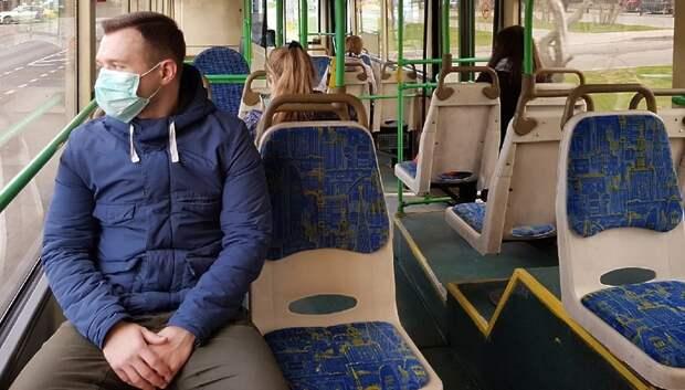 Почти все пассажиры общественного транспорта в Подмосковье носят маски