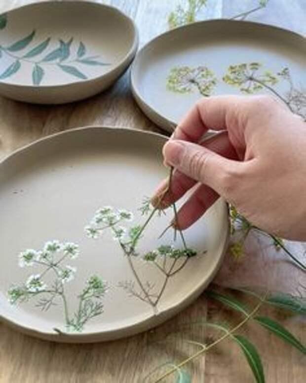 посуда из глины своими руками простая подарки
