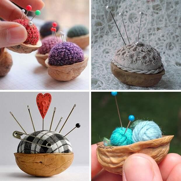Щёлкаем орешки: скорлупа грецкого ореха как материал для вашего творчества, фото № 8