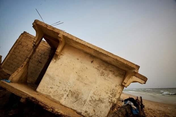 Африканская Венеция: как колониальный город Сен-Луи поглощается океаном