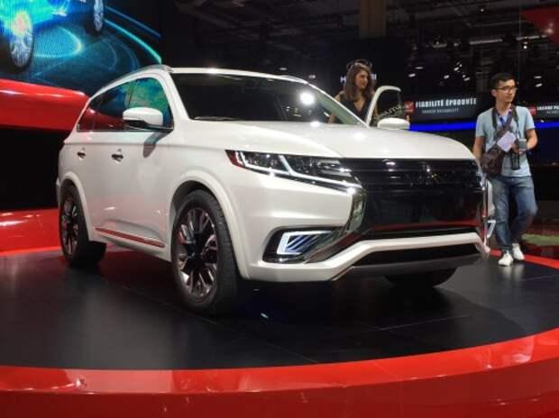 Mitsubishi показала будущий Outlander (ВИДЕО)