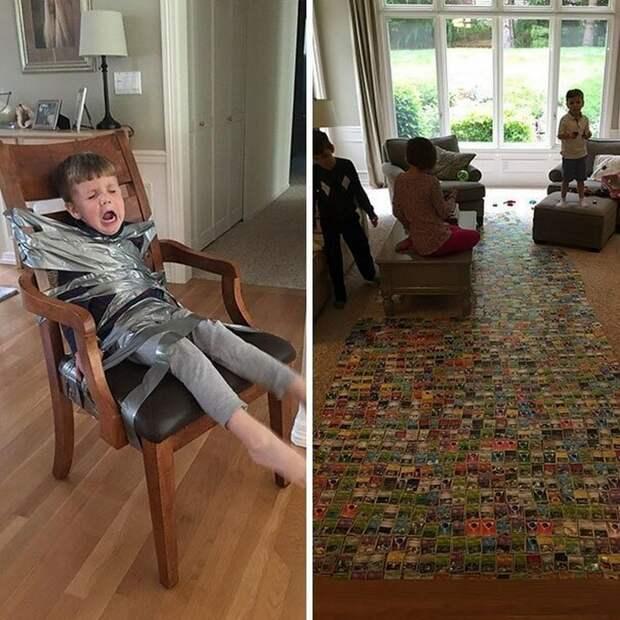 20 правдивых фотографий о том, что происходит в тех больших семьях, где больше одного ребёнка