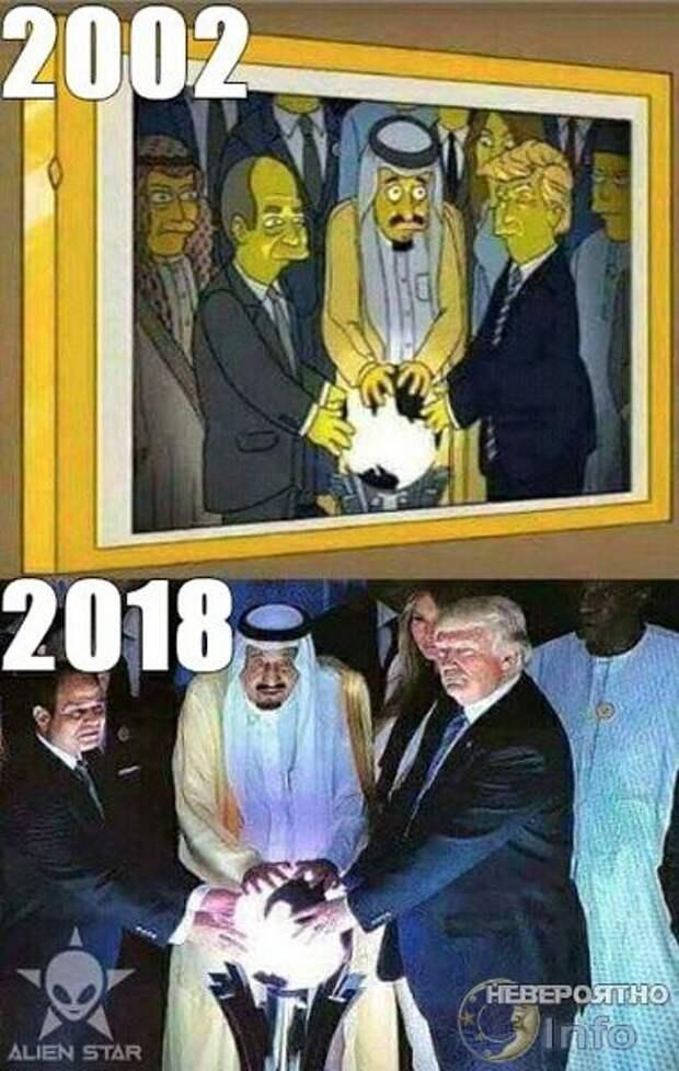 """""""Симпсоны"""" о Трампе"""
