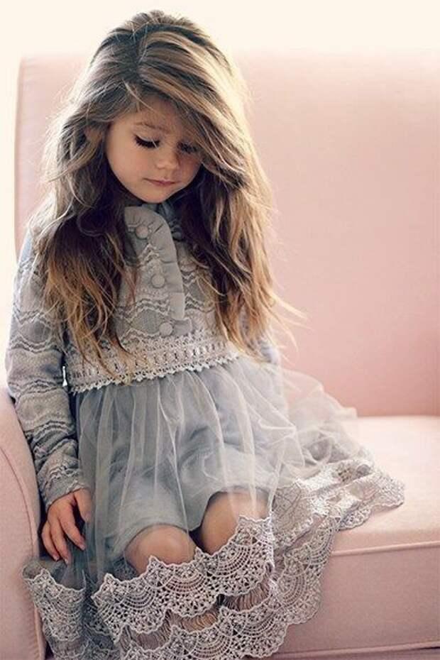 идей для нарядных детских платьев из тюли и фатина