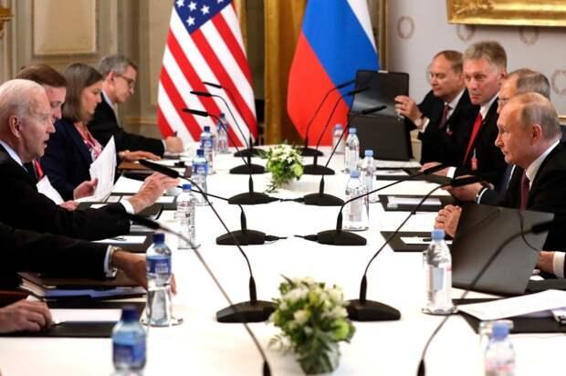 Американцы ведут себя не красиво. Может, не стоило Путину ехать в Женеву?