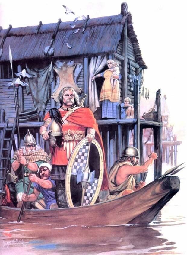 Варвары: от скифов до мадьяр, от кельтов до викингов