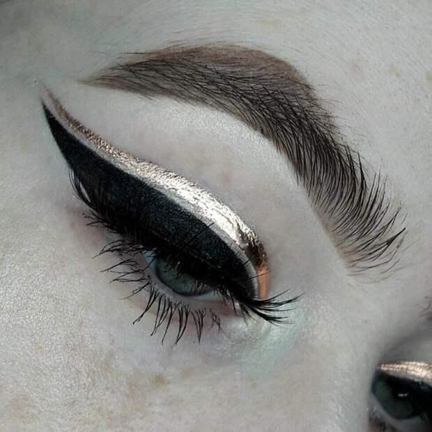 Необычные стрелки на глазах