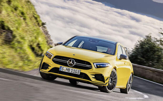 Самый дешевый Mercedes-AMG: разбираем его на детали