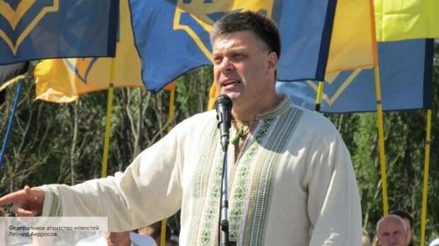 ОбменяютДонбасс на Крым: Тягнибок заявил, что через референдум Зеленский протянет «Минск»