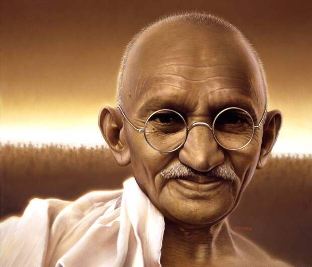 """Махатма Ганди: """"У Бога нет религии..."""""""