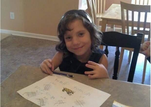 Почти сюжет ужастика: семья из США  удочерила 8-летнюю девочку