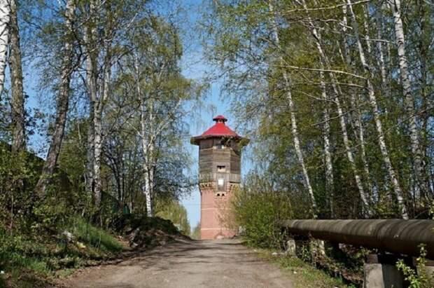 Башня Лунева, так теперь называют водонапорную башню в Томске.