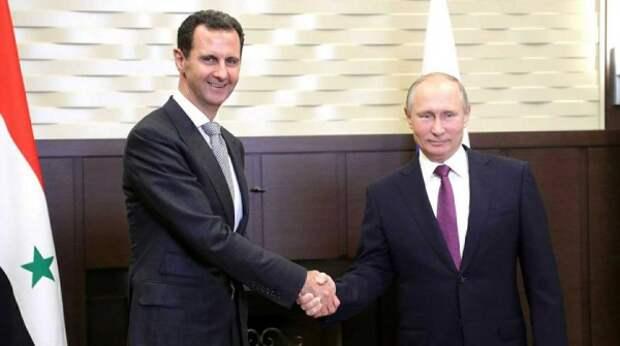 Появились подробности неожиданного визита Асада к Путину