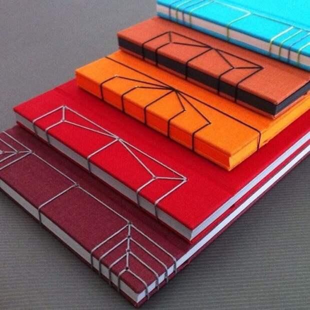 Красиво прошитые блокноты (трафик)