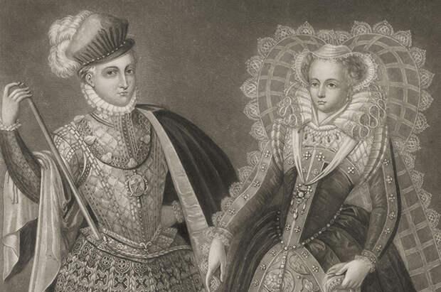 Мария Стюарт и лорд Дарнли. 1565 г