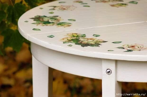 Мастер-класс по созданию стола в стиле шебби шик (9) (604x403, 109Kb)