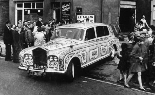 Rolls-Royce был основным автомобилем Джона Леннона.   Фото: popmech.ru.