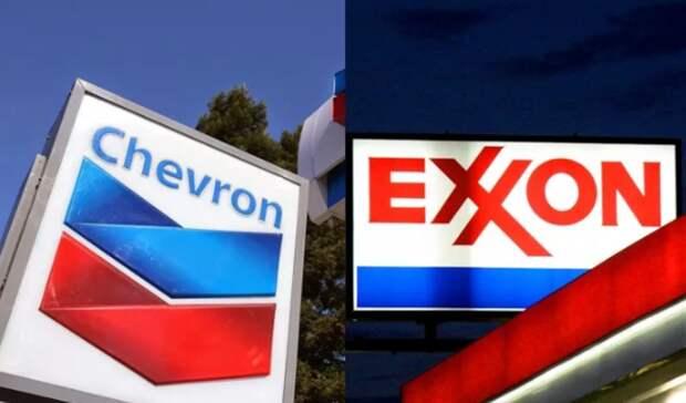ExxonMobil иChevron хотят объединиться— СМИ